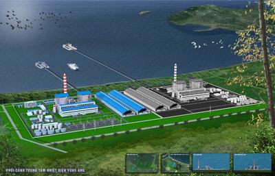 Thi công Nhà máy Nhiệt điện Vũng Áng