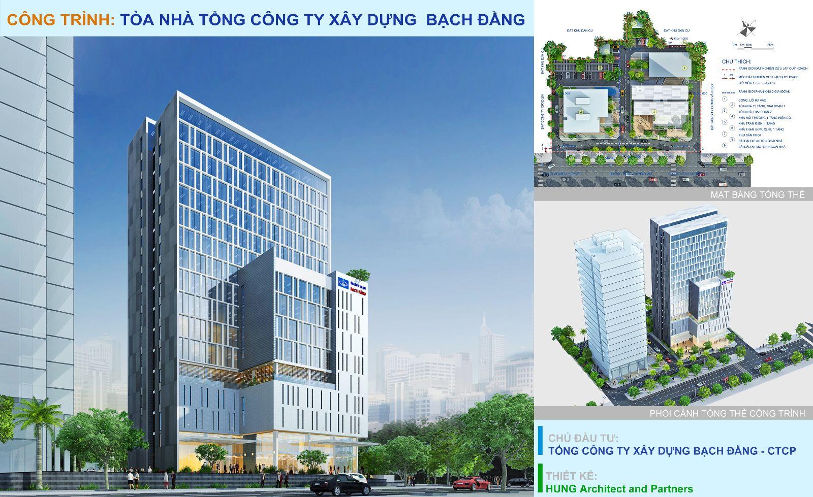 Dự án Tòa nhà Tổng công ty Xây dựng Bạch Đằng